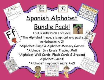 Spanish Alphabet Bundle Pack!