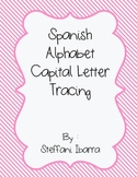 Spanish Alphabet Capital Letter Tracing