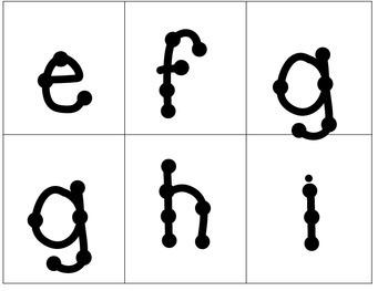 Spanish Alphabet Flash Cards // El abecedario