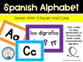 Spanish Alphabet Cards and Posters (Color-coded)