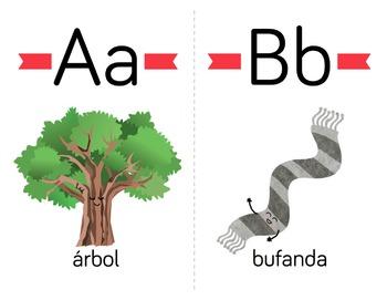 Spanish Alphabet Cards - El abecedario en español