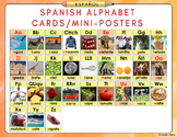 Spanish Alphabet Cards/Mini-Posters