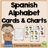Spanish Alphabet Cards and Charts - ¡Targetas del alfabeto!