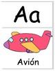 Spanish Phonics Alphabet Wall Cards