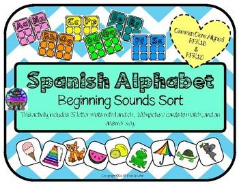 Spanish Alphabet Center