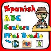 Spanish Alphabet Centers Mini Bundle