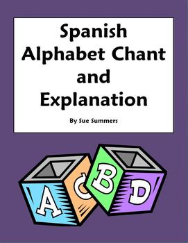 Spanish Alphabet Chant & Vowels Pronunciation Rhyme