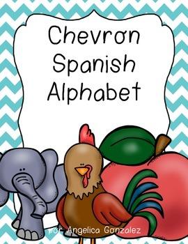 Spanish Alphabet (Chevron)