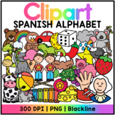 Spanish Alphabet Clipart