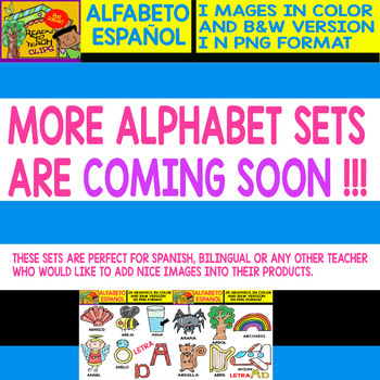 Spanish Alphabet Clipart Set - Letter D - 28 Items