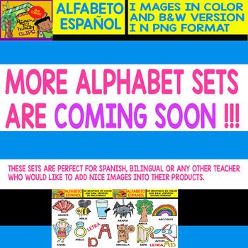 Spanish Alphabet Clipart Set - Letter N - 28 Items