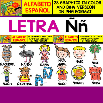 Objects That Start With The Letter N In Spanish