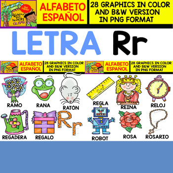 What items start with the letter r?