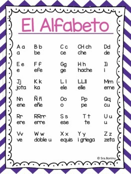 Alphabet Coloring Pages - Spanish