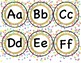 Spanish Alphabet Confetti Theme