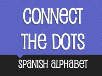 Spanish Alphabet Connect the Dots