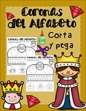 Spanish Alphabet Crowns/ Headbands - Coronas del Alfabeto corta y pega