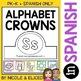 Spanish Alphabet Crowns and Necklaces Bundle