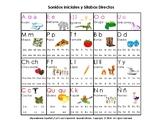 Spanish Alphabet & Direct Syllables - Alfabeto & Silabas D