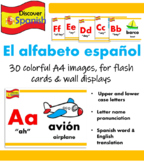 Spanish Alphabet Display (El alfabeto español)