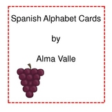 Spanish Alphabet Display/cards