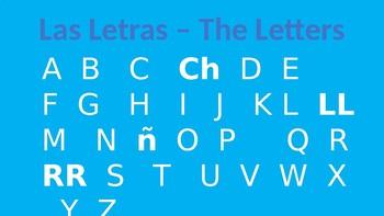 Spanish Alphabet - El Alfabeto