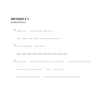 Spanish Alphabet El alfabeto Interactive Notebook Activities