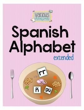Spanish Alphabet - Extended