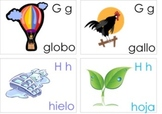 Spanish Alphabet Flash Cards for PK - 2nd