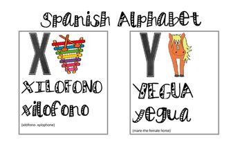 Spanish Alphabet- Flashcards