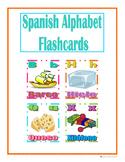 Spanish Alphabet Flashcards