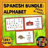 Spanish Alphabet Boom Cards, Spanish Digital Flashcards, T