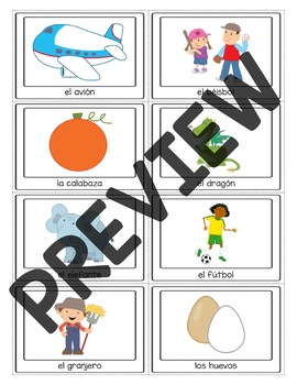 spanish alphabet flash cards pdf