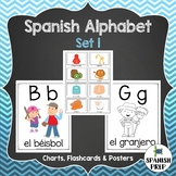 Spanish Alphabet Posters and Flashcards -  Set 1