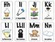 Spanish Alphabet Flashcards & Wall Posters (Bulletin Board Set) Set 2