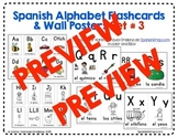 Spanish Alphabet Flashcards & Wall Posters Set 3