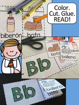 Spanish Alphabet Flip Books