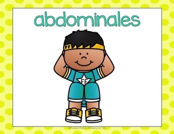 Spanish Alphabet Fluency & Fitness (Alfabeto)