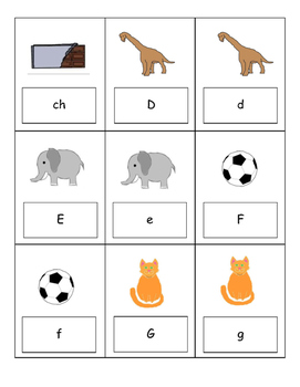 Spanish Alphabet Go Fish