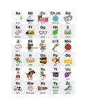 Spanish Alphabet Grid