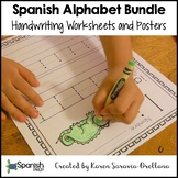 Spanish Alphabet Handwriting Bundle # 1