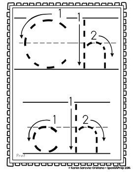 "Spanish Alphabet Handwriting Practice & Posters: ""Ch de Chaleco"""