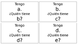 Spanish Alphabet I Have Who Has