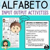 Spanish Alphabet / El alfabeto Bundle