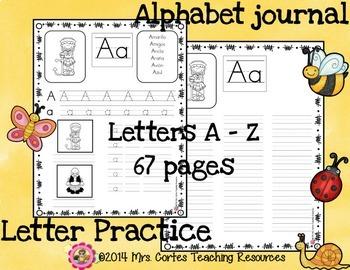 Spanish Alphabet Journal