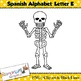 Spanish Alphabet Letter E Clip art