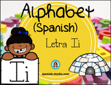 Spanish Alphabet. Letter Ii/ Letra Ii