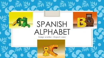 Spanish Alphabet: Letter Mini Project