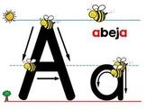 Spanish Alphabet Letter Stroke Power point