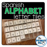 Spanish Alphabet Letter Tiles